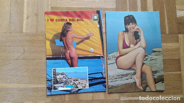 Postales: LOTE 16 POSTALES CHICAS ERÓTICAS. VER FOTOS, SE MUESTRAN TODAS - Foto 13 - 196508195