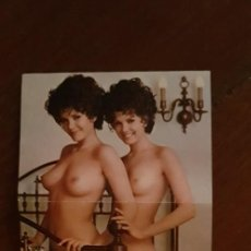 Postales: PLAYBOY PUZZLE MISSES OCTOBER MARY AND MADELEINE COLLINSON. Lote 202990992
