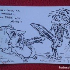 Postales: SEX PORN PORNO ERÓTICA ÉROTIQUE HUMOUR JOHN MAJOR FUCK MARGARET TATCHER TUNNEL MANCHE HUMOR SÁTIRA... Lote 205163010