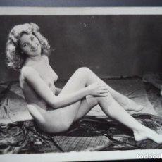 Postales: FOTOGRAFIA ANTIGUA DESNUDO FEMENINO. Lote 208434281