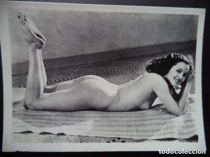 FOTOGRAFIA ANTIGUA DESNUDO FEMENINO (Coleccionismo para Adultos - Postales Temáticas - Eróticas y Pin Ups)