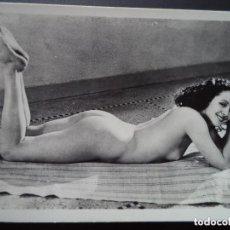 Postales: FOTOGRAFIA ANTIGUA DESNUDO FEMENINO. Lote 208434288