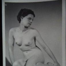 Postales: FOTOGRAFIA ANTIGUA DESNUDO FEMENINO. Lote 208434298
