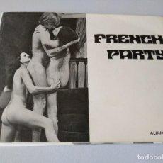 Postales: RARO ALBUM BOOK FOTOGRAFICO EROTICO FRENCH PARTY JOËL CARON 1972 FRANCIA. Lote 209013358