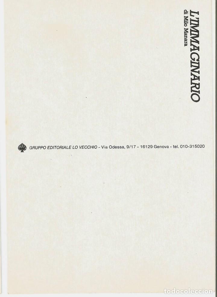 Postales: MILO MANARA - LOTE 6 POSTALES ERÓTICAS - 1990 - L´IMMAGINARIO - Foto 3 - 210988884