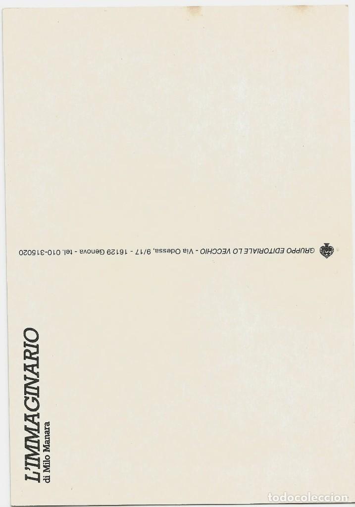 Postales: MILO MANARA - LOTE 6 POSTALES ERÓTICAS - 1990 - L´IMMAGINARIO - Foto 5 - 210988884