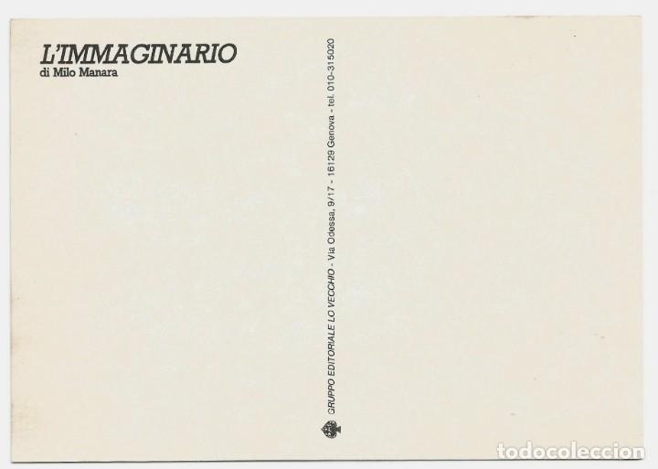 Postales: MILO MANARA - LOTE 6 POSTALES ERÓTICAS - 1990 - L´IMMAGINARIO - Foto 7 - 210988884
