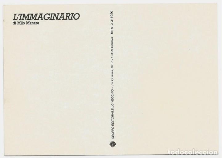Postales: MILO MANARA - LOTE 6 POSTALES ERÓTICAS - 1990 - L´IMMAGINARIO - Foto 9 - 210988884