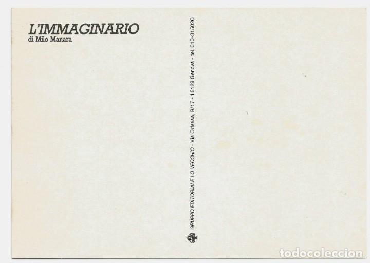 Postales: MILO MANARA - LOTE 6 POSTALES ERÓTICAS - 1990 - L´IMMAGINARIO - Foto 11 - 210988884