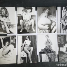 Postais: LOTE DE 8 COPIAS FOTOGRÁFICAS DE CALIDAD DE NEGATIVO ORIGINAL 60-70, 9CM X 12,50CM. Lote 226346155
