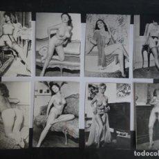 Postais: LOTE DE 8 COPIAS FOTOGRÁFICAS DE CALIDAD DE NEGATIVO ORIGINAL 60-70, 9CM X 12,50CM. Lote 226346385
