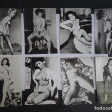 Postais: LOTE DE 8 COPIAS FOTOGRÁFICAS DE CALIDAD DE NEGATIVO ORIGINAL 60-70, 9CM X 12,50CM. Lote 226347072