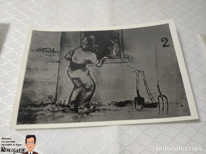 """Postales: COLECCIÓN 10 FOTOS PORNO ERÓTICAS (CROMOS NUMERADOS) """"EL BURRO"""" ZOOFILIA - AÑOS 30/40 - Foto 3 - 230803145"""