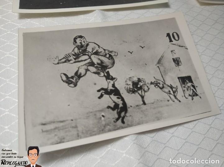 """Postales: COLECCIÓN 10 FOTOS PORNO ERÓTICAS (CROMOS NUMERADOS) """"EL BURRO"""" ZOOFILIA - AÑOS 30/40 - Foto 11 - 230803145"""
