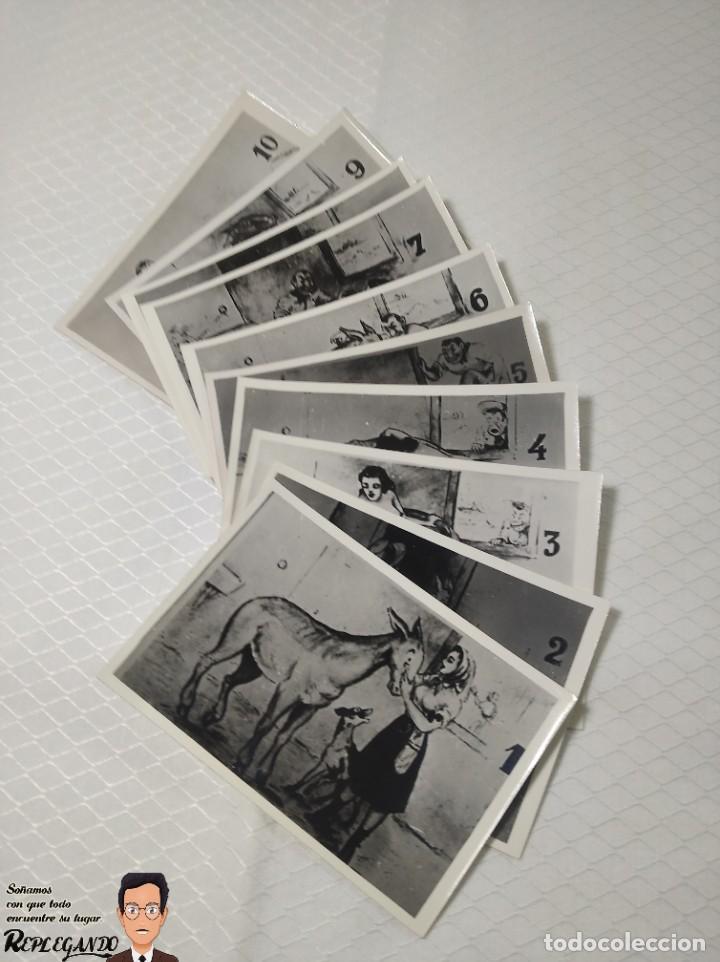 """Postales: COLECCIÓN 10 FOTOS PORNO ERÓTICAS (CROMOS NUMERADOS) """"EL BURRO"""" ZOOFILIA - AÑOS 30/40 - Foto 13 - 230803145"""