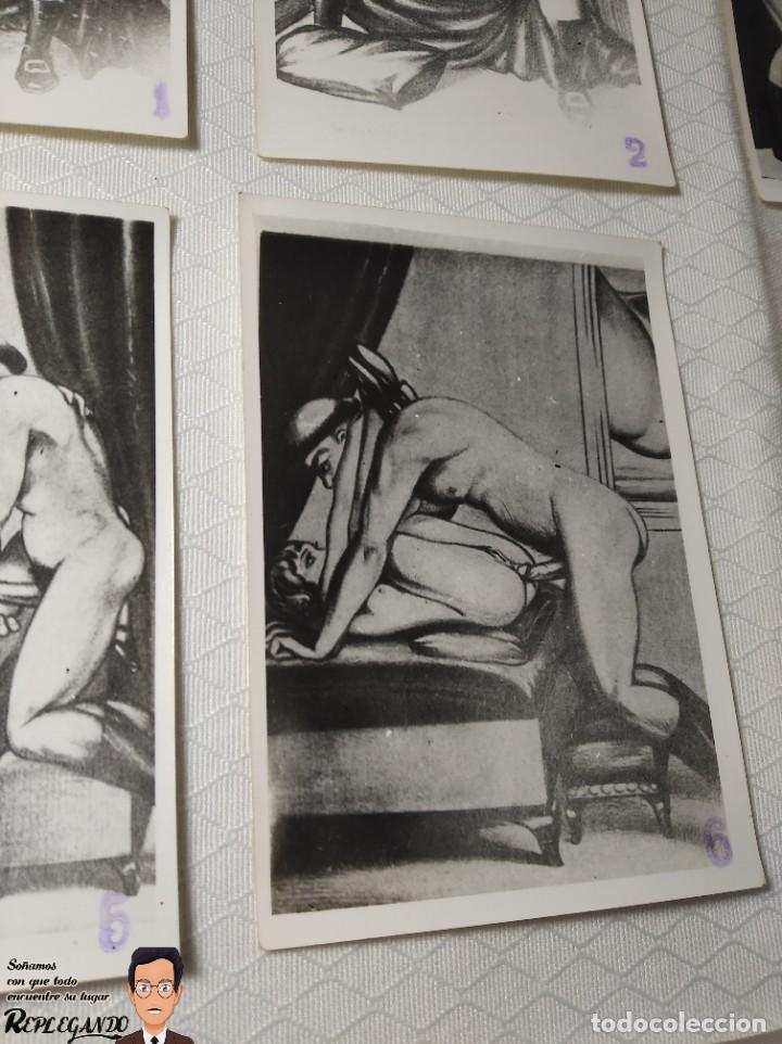 """Postales: COLECCIÓN 10 FOTOS PORNO ERÓTICAS (CROMOS NUMERADOS) """"LA CONFESIÓN"""" ZOOFILIA - AÑOS 30/40 - Foto 7 - 230804200"""