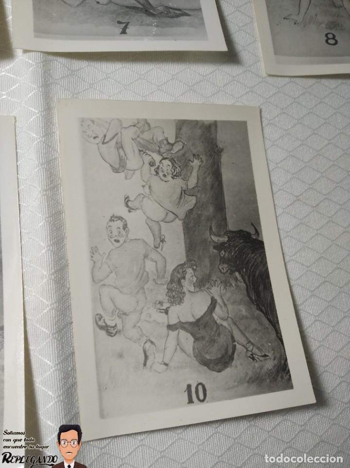 """Postales: COLECCIÓN 10 FOTOS PORNO ERÓTICAS (CROMOS NUMERADOS) """"MERIENDA EN EL CAMPO"""" - AÑOS 30/40 - Foto 11 - 230804560"""