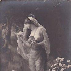 Postales: DESNUDO FEMENINO POSTAL FOTOGRÁFICA. . SIN CIRCULAR.. Lote 235995745