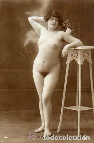 POSTAL DESNUDO FEMENINO. ORIGINAL. ACABADO FOTOGRÁFICO. Nº 101. (Coleccionismo para Adultos - Postales Temáticas - Eróticas y Pin Ups)