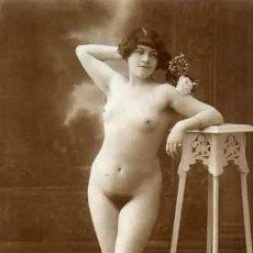 Postales: POSTAL DESNUDO FEMENINO. ORIGINAL. ACABADO FOTOGRÁFICO. Nº 101.. Lote 236081415