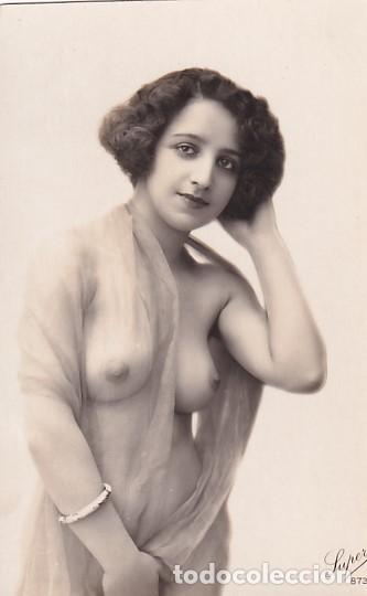 TARJETA POSTAL FOTOGRÁFICO DESNUDO FEMENINO SUPER 873 SIN CIRCULAR. (Coleccionismo para Adultos - Postales Temáticas - Eróticas y Pin Ups)