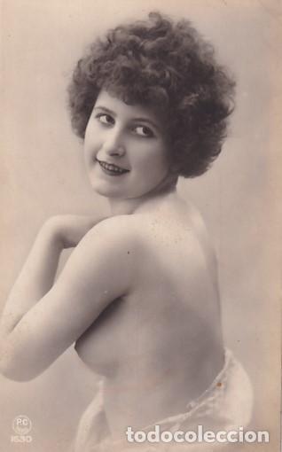 TARJETA POSTAL FOTOGRÁFICO DESNUDO FEMENINO PC PARIS 1630 SIN CIRCULAR (Coleccionismo para Adultos - Postales Temáticas - Eróticas y Pin Ups)