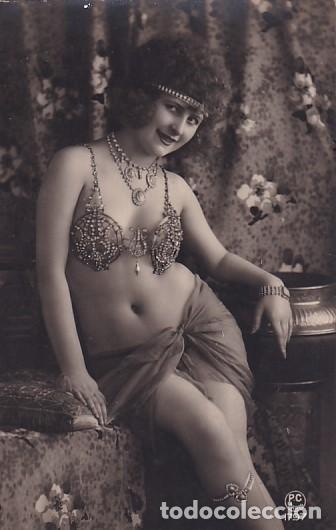 TARJETA POSTAL FOTOGRÁFICO DESNUDO FEMENINO PC PARIS 1797 SIN CIRCULAR (Coleccionismo para Adultos - Postales Temáticas - Eróticas y Pin Ups)