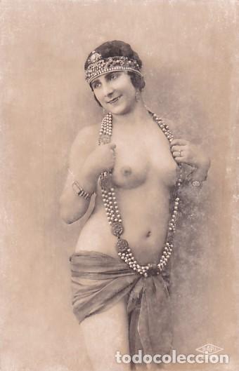FOTOGRAFÍA TAMAÑO POSTAL SAPI 2086 EL COMETA OCTUBRE 1930 (Coleccionismo para Adultos - Postales Temáticas - Eróticas y Pin Ups)