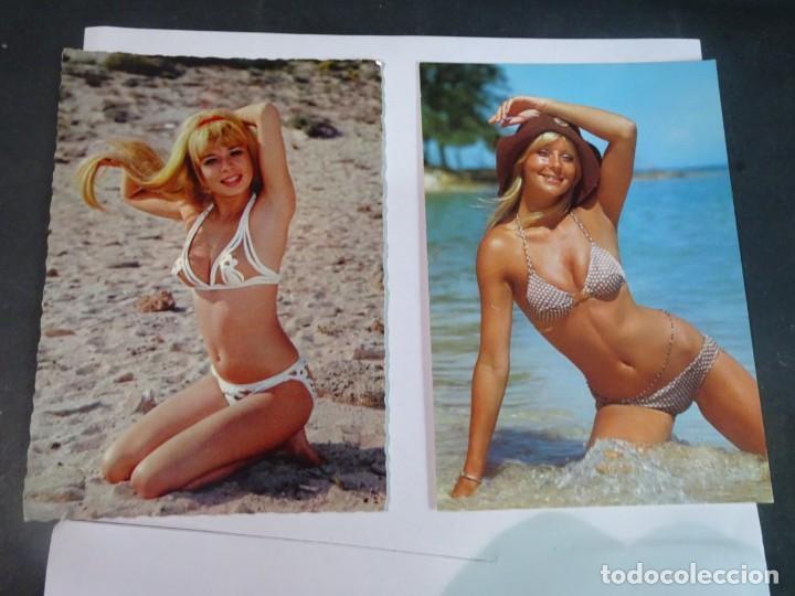 Postales: LOTE DE 2 POSTALES ERÓTICAS AÑOS 70, VER FOTOS - Foto 3 - 245244390