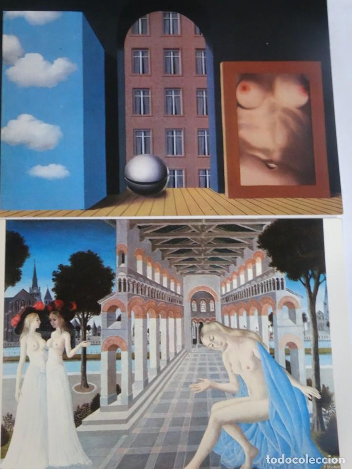 LOTE DE 2 POSTALES CUADROS , VER FOTOS (Coleccionismo para Adultos - Postales Temáticas - Eróticas y Pin Ups)