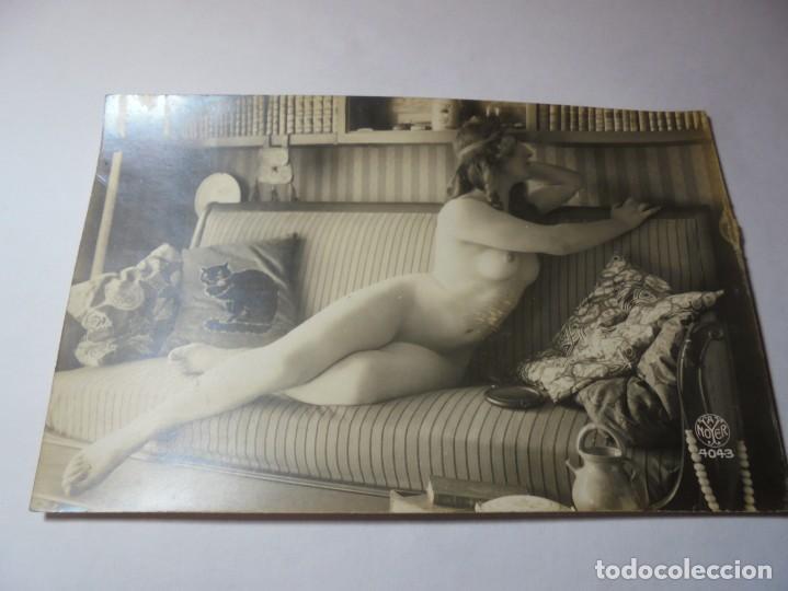 Postales: magnificas 3 postalas antiguas eroticas - Foto 2 - 245582875