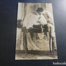 Cartes Postales: POSTAL PORNOGRAFICA FOTOGRAFICA HACIA 1910. Lote 246508960