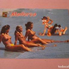 Postales: POSTAL EROTICA. MALLORCA. N 3270. ESCUDO DE ORO BALEARES.. Lote 246774830