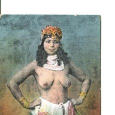 Postales: DESNUDO ÉTNICO-JOVEN ARABE DE TUNEZ- AÑO 1916. Lote 247322165