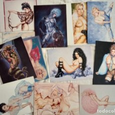 Postales: CARDS 40 TARJETÓN PRINTED USA ÚNICAS 1978 A 90 DOBLES VINTAGE NUEVO. Lote 269002694