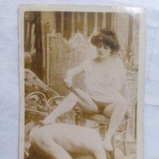 Cartes Postales: POSTAL FOTOGRAFICA, MUJER A HOMBRE DOMINACION Y AZOTES, ORIGINAL, PRINCIPIO SIGLO XX. Lote 275542173