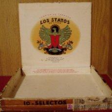Cajas de Puros: CAJA DE PUROS VACIA. LOS STATOS DE LUXE. HABANA. Lote 24034272