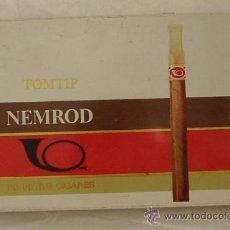 Cajas de Puros: CAJA METALICA VACIA DE PUROS NEMROD TOMTIP- FRANCIA. Lote 25780842