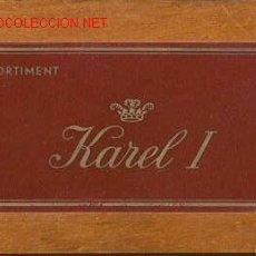 Cajas de Puros: CAJA DE PUROS DE MADERA KAREL I. Lote 26008448