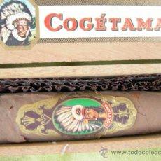 Cajas de Puros: CIGARRO PURO COGETAMA. Lote 15771545