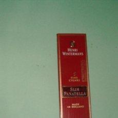 Cajas de Puros: CAJA DE PUROS SLIM PANATELLA (ANTIGUOS). Lote 24990624