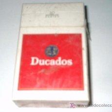 Cajas de Puros: PAQUETE DE TABACO - CIGARROS -PUROS AÑOS 80: DUCADOS RUBIO. Lote 26018785