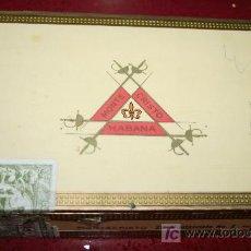 Cajas de Puros: CAJA DE PUROS VACIA - MONTECRISTO Nº 3. Lote 20917220
