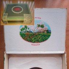 Cajas de Puros: CAJA VACÍA DE PURITOS LA FLOR DE CANO PETIT-CORONAS CUBA. Lote 27201544