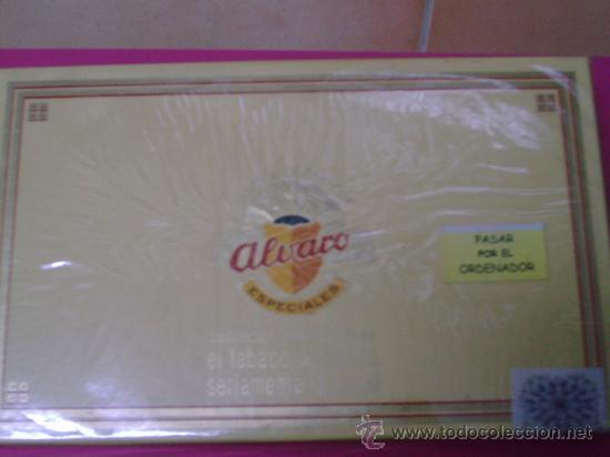 PUROS ALVARO SALUDOS ( 25 PUROS) (Coleccionismo - Objetos para Fumar - Cajas de Puros)