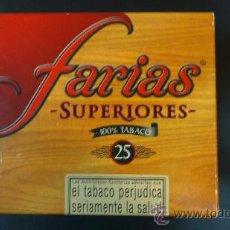 Cajas de Puros: CAJA DE PUROS FARIAS SUPERIORES.DE CARTON.. Lote 43192103