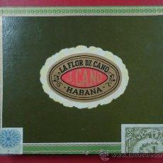 Cajas de Puros: CAJA DE PUROS, LA FLOR DE CANO, HABANA. . Lote 30006980