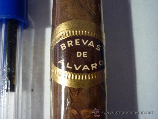 PURO BREVAS DE ALVARO (Coleccionismo - Objetos para Fumar - Cajas de Puros)