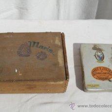 Cajas de Puros: LOTE DE 2 CAJAS DE PUROS.. Lote 31506782