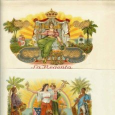 Cajas de Puros: LAMINAS DE PUROS. Lote 32333529